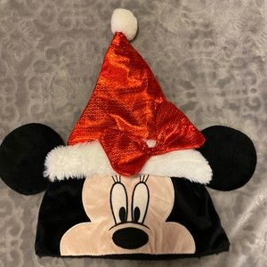 Disney Minnie Mouse Santa Hat